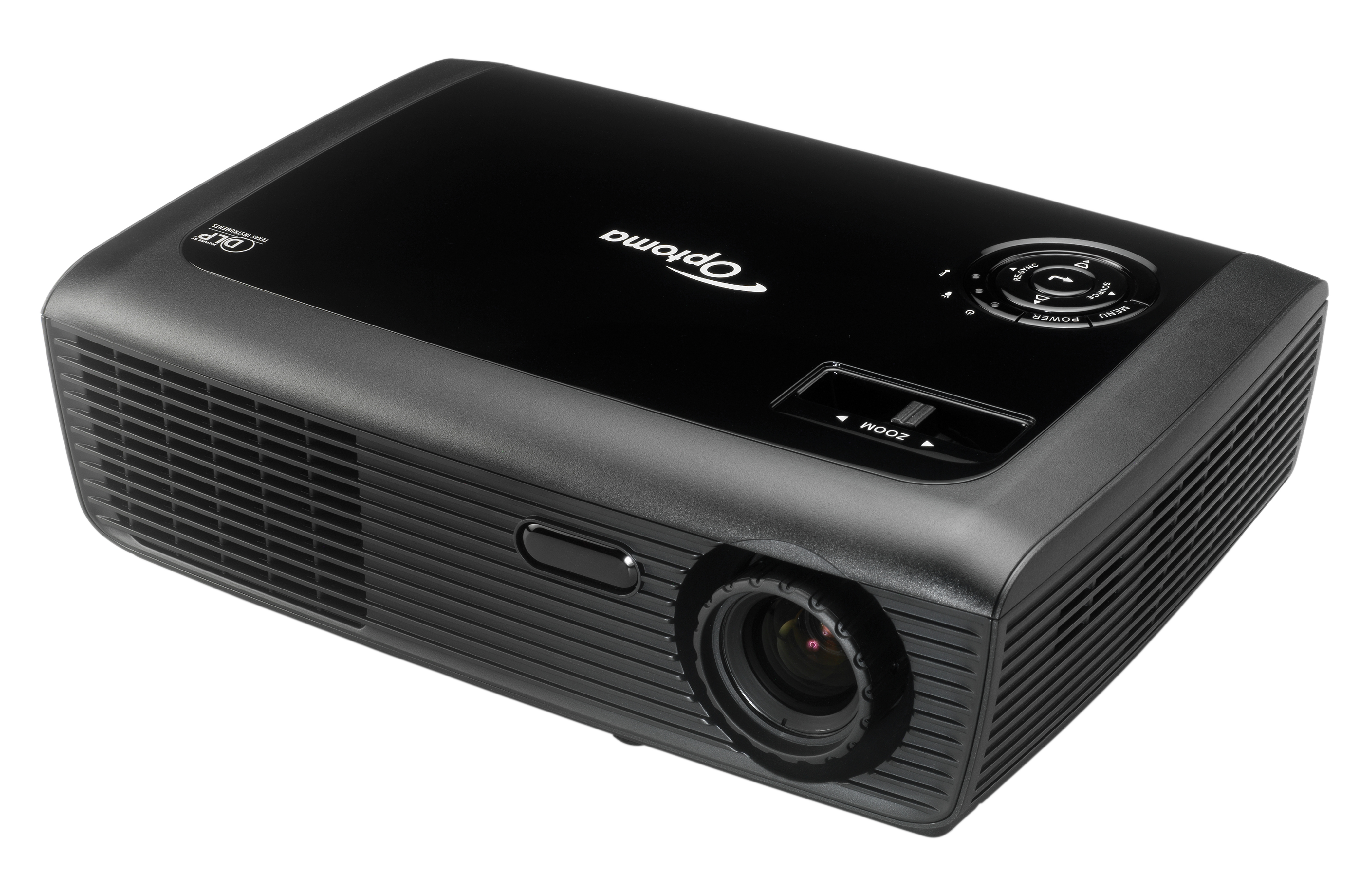 Pack proyector optoma ds316l pantalla manual de 100 for Pantalla para proyector