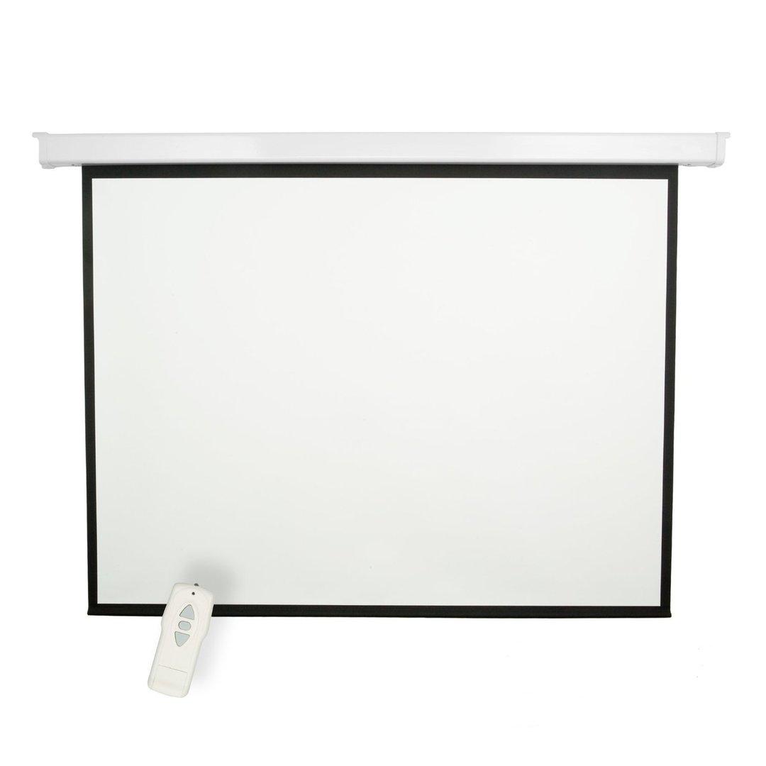 Pantalla de proyecci n el ctrica globalscreen de 72 1 50m for Pantalla para proyector