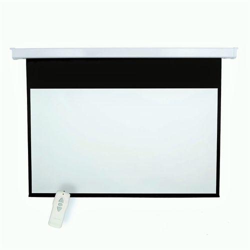 pantallas de proyecci n el ctricas 16 9 maxvisual