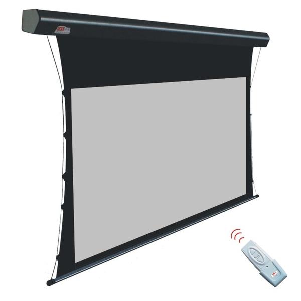 Pantalla de proyecci n electrica globalscreen de 100 4 3 for Pantalla proyector electrica