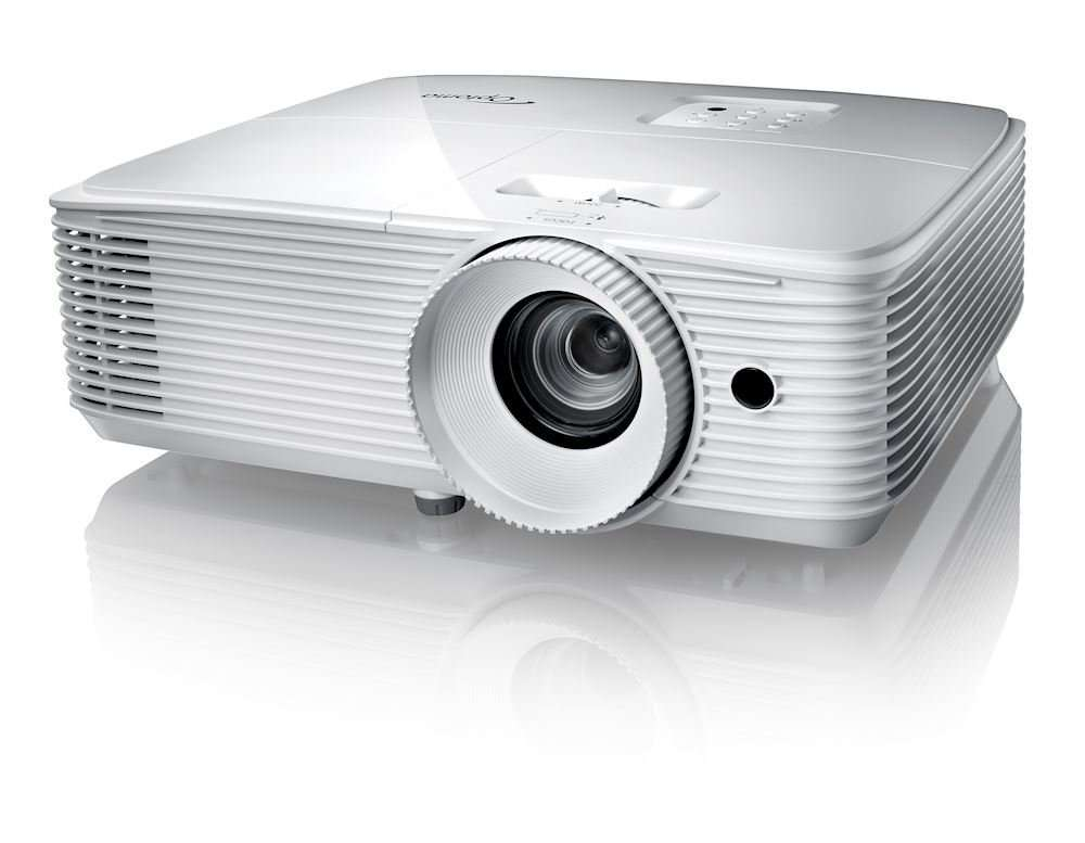 DLP 1920x1080 3D HD27E 3400 Optoma Proyector Lumens MaxVisual 7Yyfgvb6